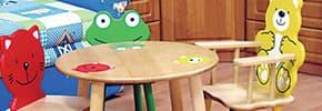 Столы, стулья детские