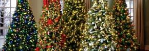 Искусственные новогодние елки, сосны