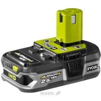 Аккумулятор, зарядное устройство для электроинструмента Аккумулятор RYOBI RB18L25