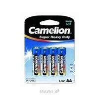 Батарейку, аккумулятор (AA/AAA/C/D) Camelion R6P-BP4B
