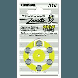 Батарейку, аккумулятор (AA/AAA/C/D) Camelion A10-BP6