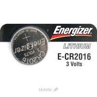 Батарейку, аккумулятор (AA/AAA/C/D) Energizer CR-2016 bat(3B) Lithium 1шт