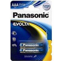 Фото Panasonic AAA bat Alkaline 2шт EVOLTA (LR03EGE/2BP)