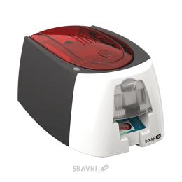 Принтер штрих кодов и наклеек Evolis Badgy 200