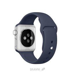 Ремешок для умных часов и спортивных браслетов Apple Midnight Blue Sport Band для Watch 38mm MLKX2