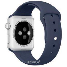 Ремешок для умных часов и спортивных браслетов Apple Midnight Blue Sport Band для Watch 42mm MLL02