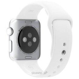 Ремешок для умных часов и спортивных браслетов Apple White Sport Band для Watch 38mm MJ4E2