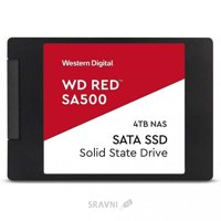 SSD-накопитель Western Digital WD Red SA500 4 TB (WDS400T1R0A)