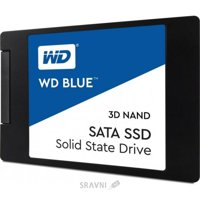 SSD-накопитель Western Digital WD SSD Blue 500 GB (S500G2B0A)