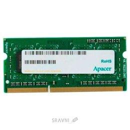 Модуль памяти для ПК и ноутбука Apacer 8GB SO-DIMM DDR3 1600 MHz (DS.08G2K.KAM)