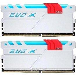 Модуль памяти для ПК и ноутбука Geil 16GB (2x8GB) DDR4 3000MHz EVO X Stealth Black (GEXG416GB3000C15ADC)