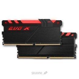 Модуль памяти для ПК и ноутбука Geil 8GB (2x4GB) DDR4 2400MHz EVO X Stealth Black with Black Switch (GEXB416GB2400C16DC)