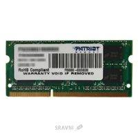 Patriot 8GB SO-DIMM DDR3 1600MHz (PSD38G16002S)