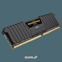 Corsair 8GB (1x8GB) DDR4 3000 MHz Vengeance LPX Black (CMK8GX4M1D3000C16)
