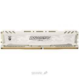 Модуль памяти для ПК и ноутбука Crucial 16GB DDR4 3000MHz Ballistix Sport LT White (BLS16G4D30AESC)