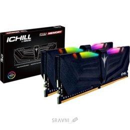 Модуль памяти для ПК и ноутбука Inno3D 16GB (2x8GB) DDR4 4000MHz ICHILL RGB AURA (RCX2-16G4000A)