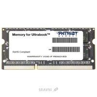 Patriot 4GB SO-DIMM DDR3 1600MHz (PSD34G1600L2S)