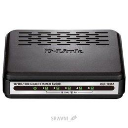 Коммутатор, концентратор, маршрутизатор D-Link DGS-1005A