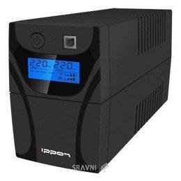UPS (Система бесперебойного питания) IPPON Back Power Pro LCD 700