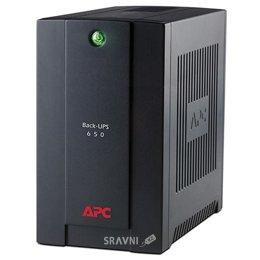 UPS (Система бесперебойного питания) APC Back-UPS 650VA Standby with Schuko
