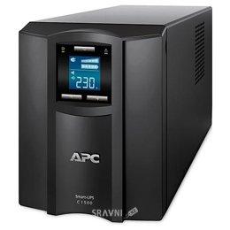 UPS (Система бесперебойного питания) APC Smart-UPS C 1500VA LCD 230V