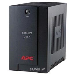 UPS (Система бесперебойного питания) APC Back-UPS 500VA,AVR, IEC outlets