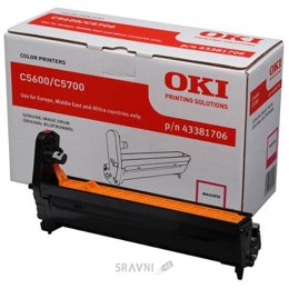 Картридж, тонер-картридж для принтера OKI 43381706