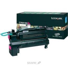 Картридж, тонер-картридж для принтера Lexmark C792X1MG