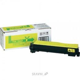 Картридж, тонер-картридж для принтера Kyocera TK-560Y