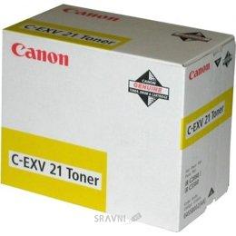Чернило и тонер Canon C-EXV21 Yellow (0455B002)