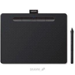 Графический планшет, дигитайзер Wacom Intuos Bluetooth M (CTL-6100WLK-N)