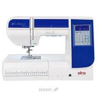 Швейную машинку и оверлоку Elna eXcellence 680