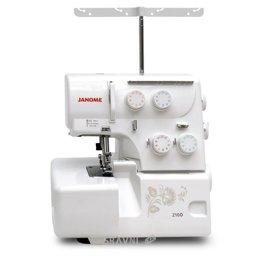 Швейную машинку и оверлоку Janome 210D