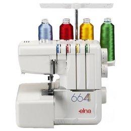Швейную машинку и оверлоку Elna 664
