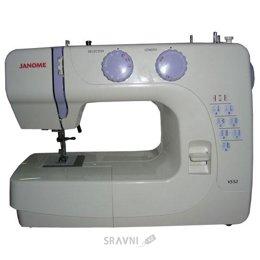Швейную машинку и оверлоку Janome VS 52
