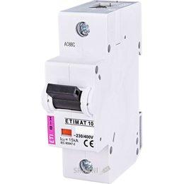 Автоматический выключатель ETI ETIMAT 10 1p C 80A (2131731)