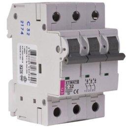 Автоматический выключатель ETI ETIMAT 10 3p C 63A 6 kA (2135722)