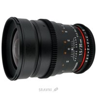 Фото Samyang 35mm T1.5 ED AS UMC VDSLR Canon EF