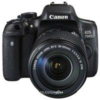 Цифровой фотоаппарат Цифровой фотоаппарат Canon EOS 750D Kit