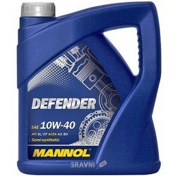 Моторное масло Mannol DEFENDER 10W-40 4л