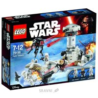 Конструктор детский Конструктор LEGO Star Wars 75138 Нападение на Хот