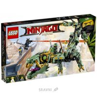 LEGO Ninjago Movie 70612 Зелёный механический дракон ниндзя