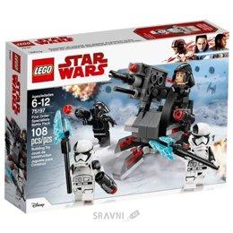 Конструктор детский LEGO Star Wars Боевой комплект специалистов Первого Ордена 108 деталей (75197)