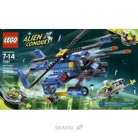 Конструктор детский Конструктор LEGO Alien Conquest 7067 Jet-Copter Encounter