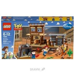 Конструктор детский LEGO Toy Story 7594 Облава Вуди