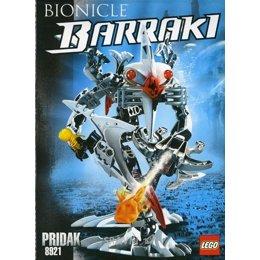 Конструктор детский LEGO Bionicle 8921 Придак