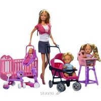 Simba Штеффи с детьми и аксессуарами (5736350)
