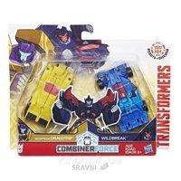 Hasbro Transformers Крэш Комбайнер Драгстрип и Вайлдбрейк (C2342)