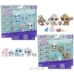 Игровую фигурку Hasbro Littlest Pet Shop Семья петов (B9346)