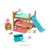 Игровую фигурку Li'l Woodzeez Двухъярусная кровать для детской комнаты (6169Z)